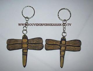Souvenir Pernikahan Gantungan Kunci Batik Jogjakarta 15