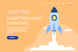 Software ZombiePilot V 1.0.0.2 Untuk Mencari Blog Zombie