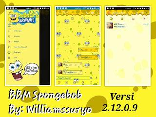 BBM MOD SPONGEBOB 2.12.0.9 APK