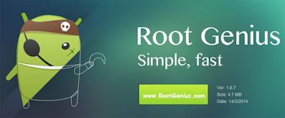 cara root menggunakan aplikasi genius