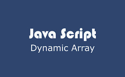 Dynamic Array Java script