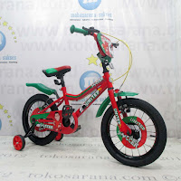 16 Inch United Soccer BMX Kids Bike