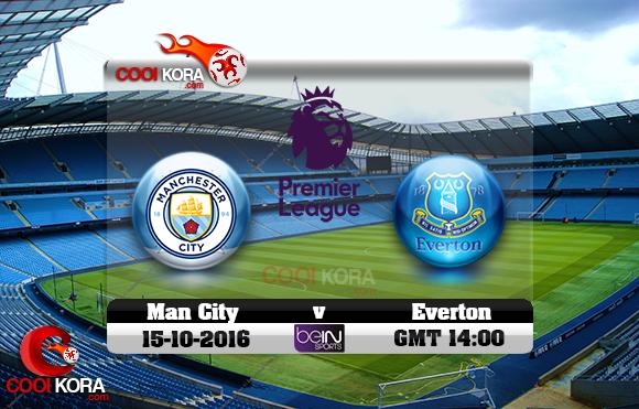مشاهدة مباراة مانشستر سيتي وإيفرتون اليوم 15-10-2016 في الدوري الإنجليزي