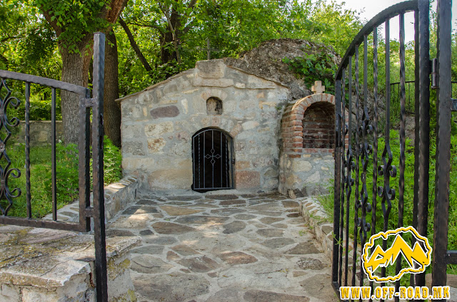 St. Prohor Pchinski hermit cave in Staro Nagoricane