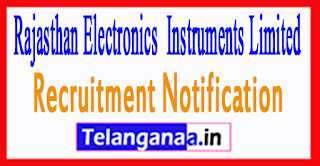 REIL Rajasthan Electronics & Instruments Limited Recruitment Notification 2017