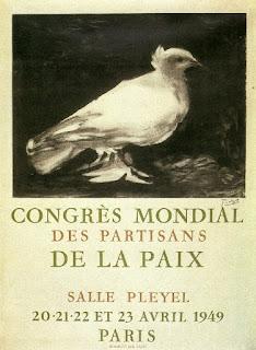 Resultado de imagem para cartaz do Congresso Mundial da paz, 1949