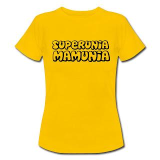 Koszulka Superunia mamunia