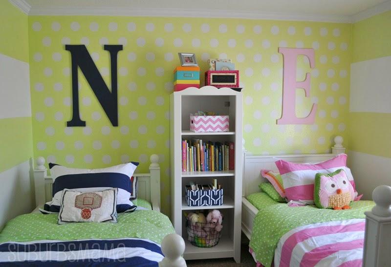 23 Dormitorios Compartidos Para Chicos Y Chicas Infantil Decora - Dormitorios-chicas