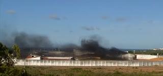 Fantástico entra em Alcaçuz, mostra presos armados e pavilhões destruídos; assista