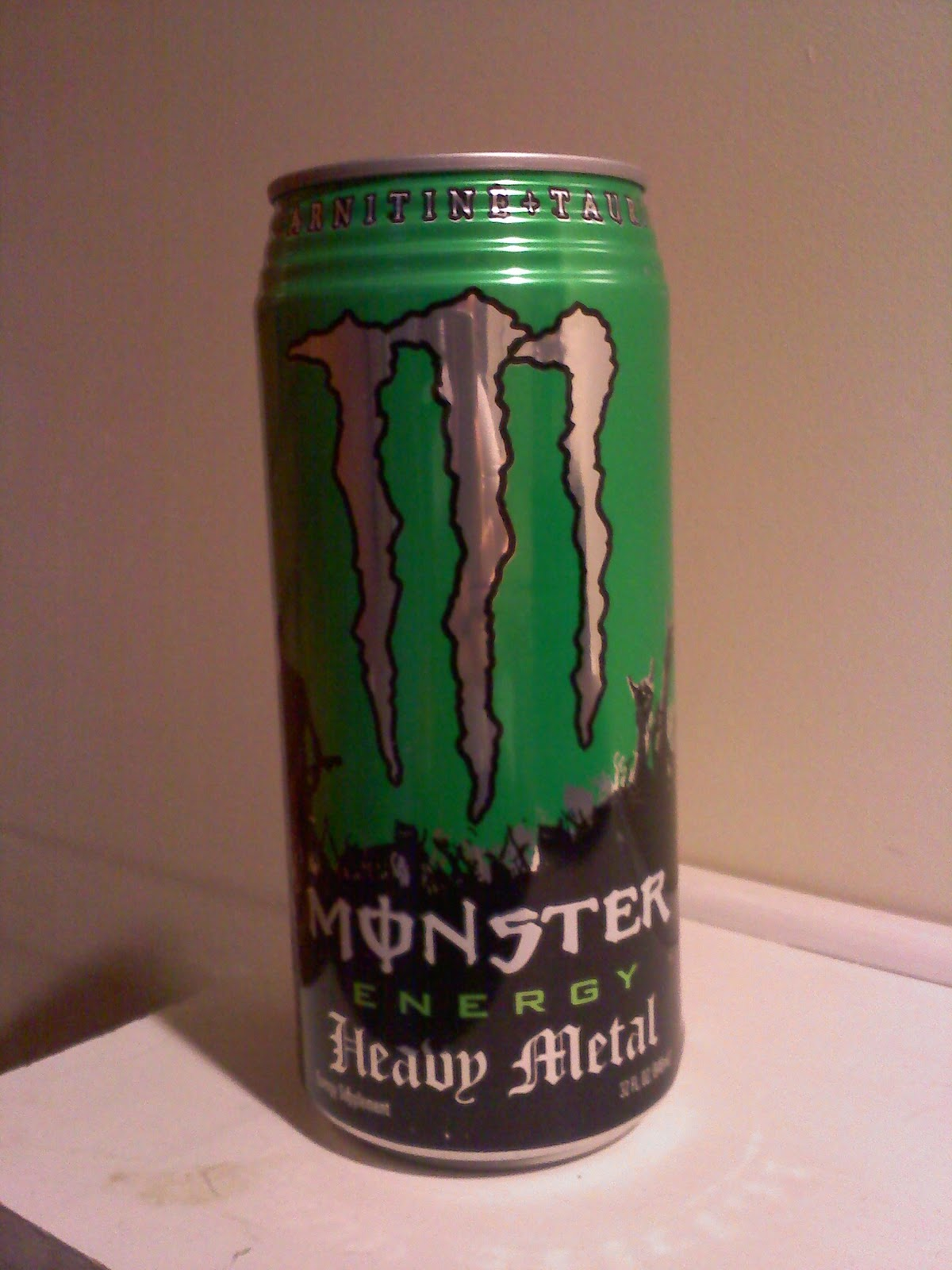 Caffeine Review For Monster Energy Heavy Metal