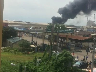 Fire breaks out at Dangote's spgaetti factory