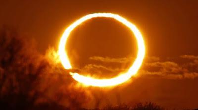 Gerhana matahari cincin sore hari ini