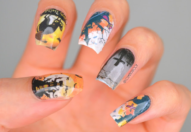 NAILS | Easy Halloween Nail Art #ManiMonday