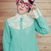 Kumpulan Model Baju Muslim Artis Risty Tagor