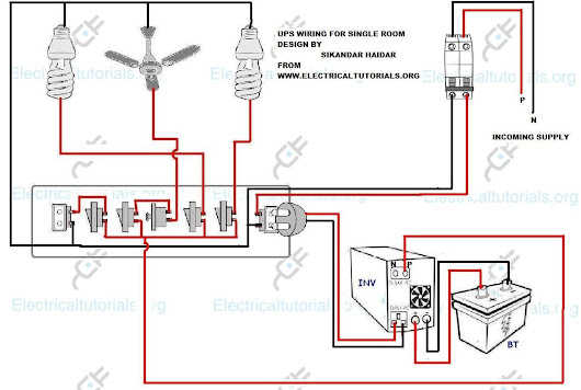home inverter wiring diagram sikandar haidar - google+ battery and inverter wiring diagram #6