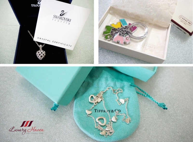 christmas giveaway coach enamel bag charms key ring