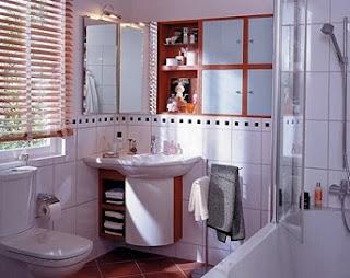 baño funcional y pequeño