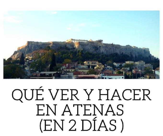 Qué ver y hacer en Atenas en dos días