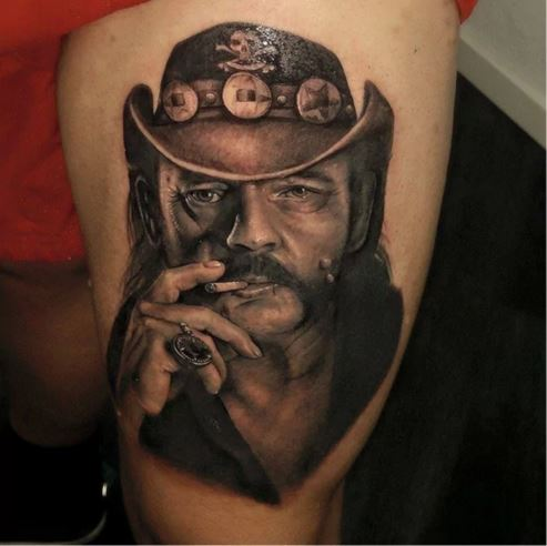 Amazing Tattoo Style : 20 Tribute Tattoos To Motörhead And Lemmy