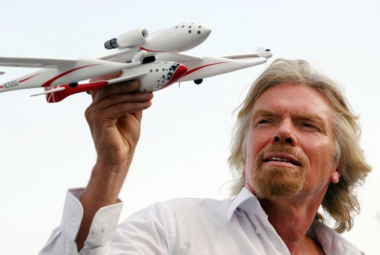 Las claves del éxito de Richard Branson