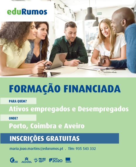 formação gratuita para empregados e desempregados