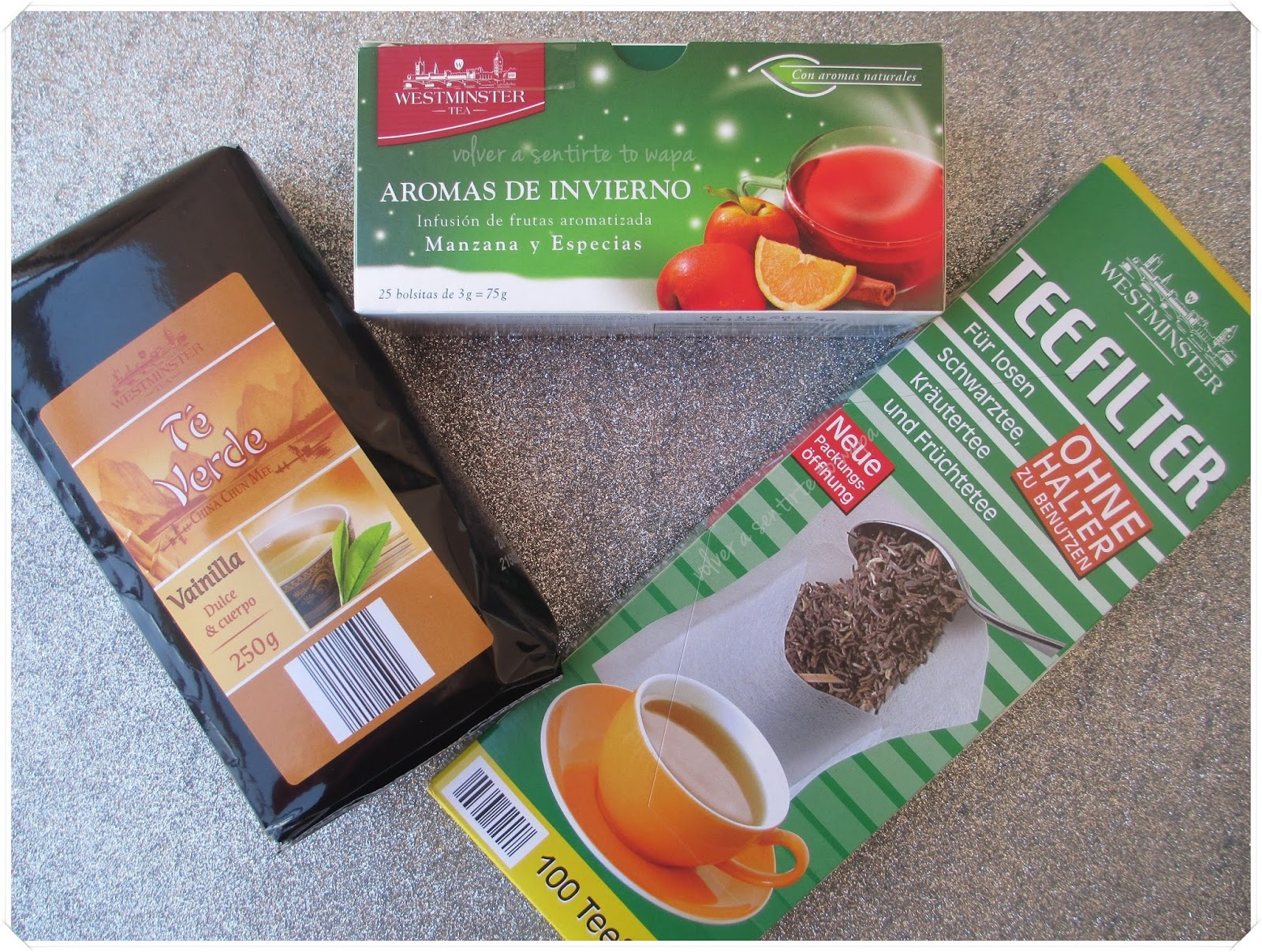 Qué comprar en ALDI - Tés, infusiones y filtros para el té