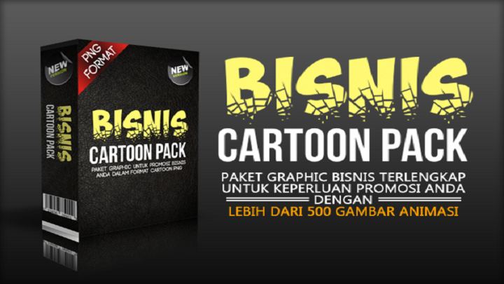 Bisnis Cartoon Pack