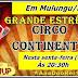 Em Mulungu/PB: Estréia do Circo Continental e o Palhaço Ketchup nesta sexta