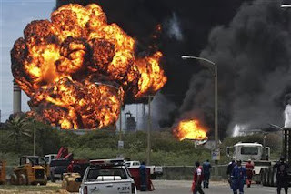 okrika refinery bombing mend
