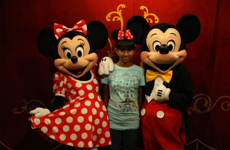 Mickey Mouse, Minnie, Magic Kingdom