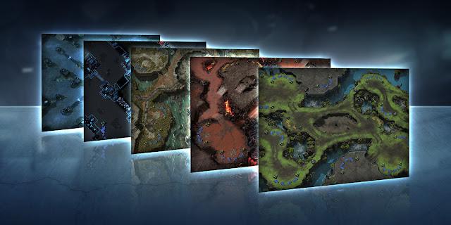 Mapas de jerarquía nuevos en Starcraft para la temporada 2 de 2018