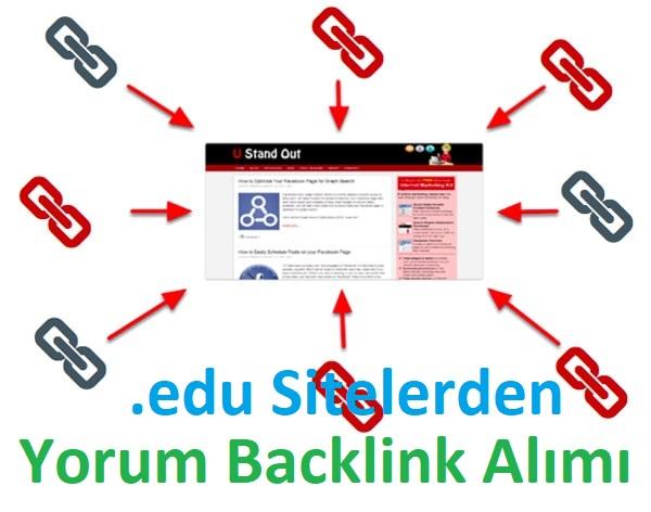 .edu Sitelerden Yorum Backlink'i Alabileceğiniz Kaynaklar