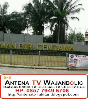 Jual ANTENA TV WAJANBOLIC Taman Puri Cendana Tambun