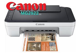 Canon PIXMA MG2922 Driver Download