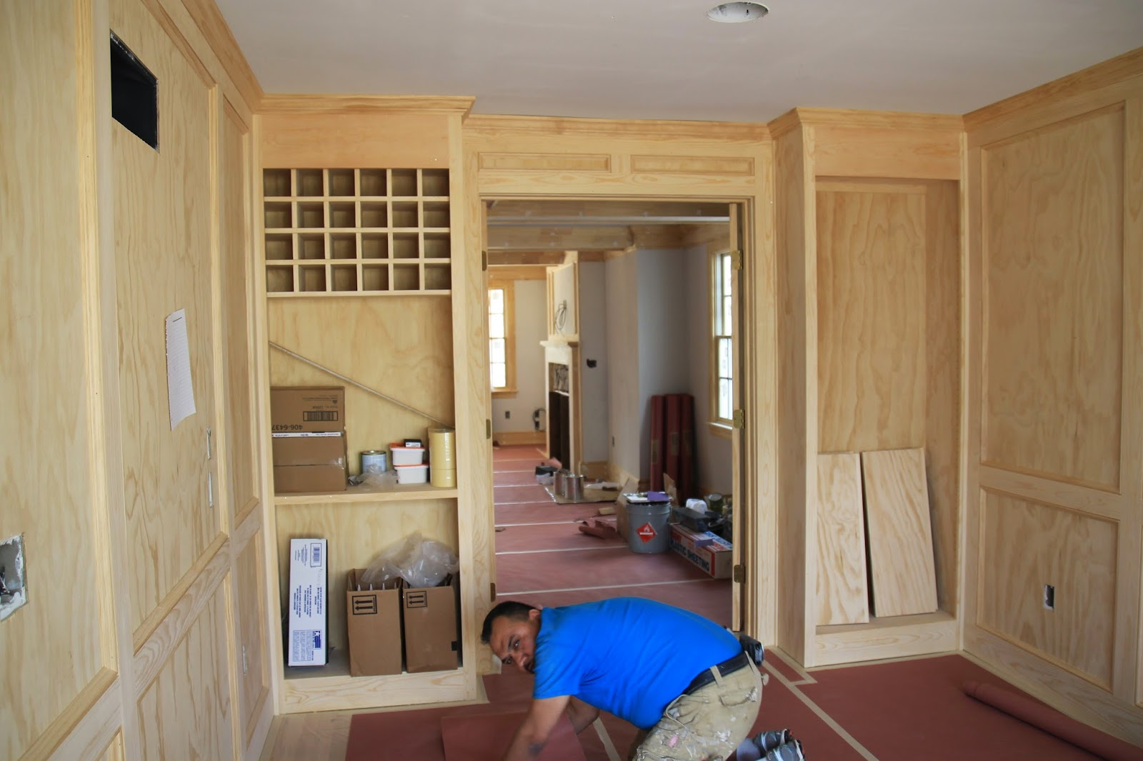 Jenny Steffens Hobick: House Update | Trim, Tile, Stone ...