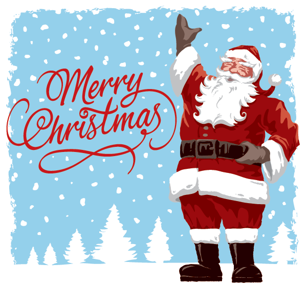 Vintage Father Christmas Santa Claus