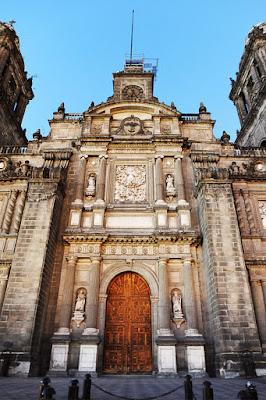 katedrala mexico city, prestop v Mexico City