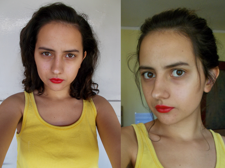 ps minimalist blog,fashion and beauty blogger Valentia Batrac,teen beauty bloggers,hrvatski beauty blogovi,summer makeup look,bronze and glowy makeup look,no foundation dewy makeup,red lip makeup look,
