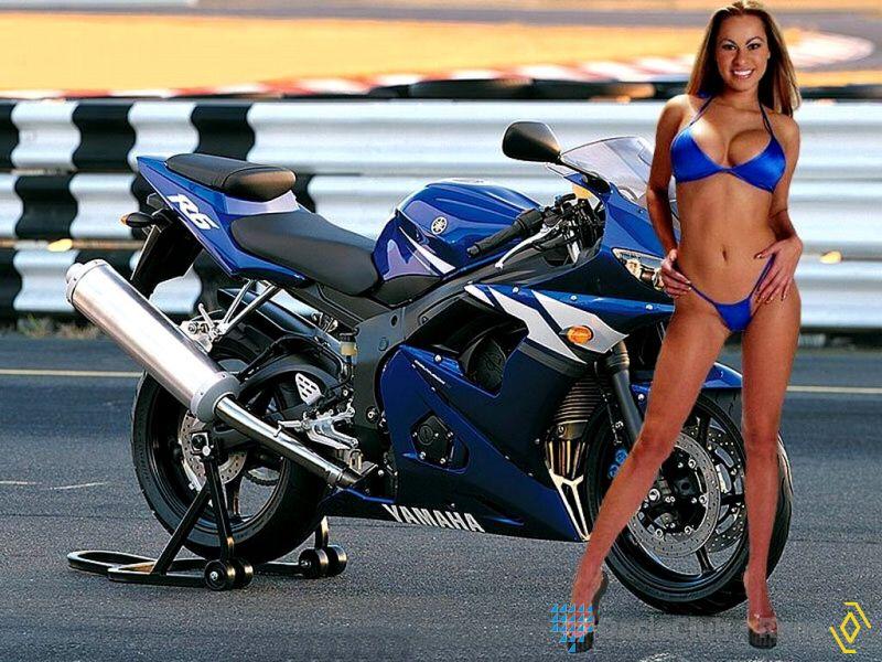 Luusama Motorcycle And Helmet Blog News Motorcycle Nude Naked Biker Girl Babe With -9324