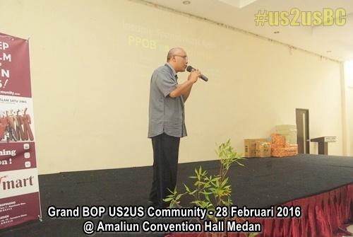 Grand BOP US2US Medan USTOUS Community