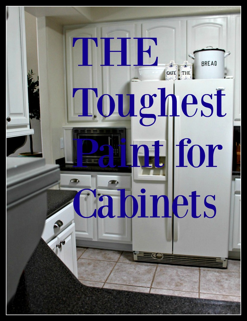 The toughest paint for cabinets no minimalist here for Kitchen 0 finance b q