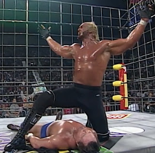 WCW Halloween Havoc 1997 - Piper vs. Hogan in a cage 2