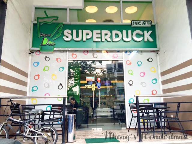 TEA LOVE: Super Duck Modern Tea Shop