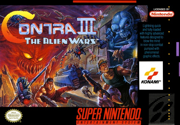 Contra III: The Alien Wars - Portada