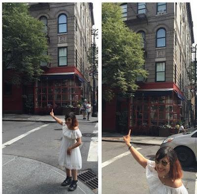 L'immeuble des FRIENDS à New York