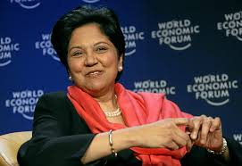 Indra Nooyi-She has been CEO of PepsiCo for 12 years from 2006-2018