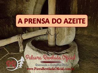 A PRENSA DO AZEITE