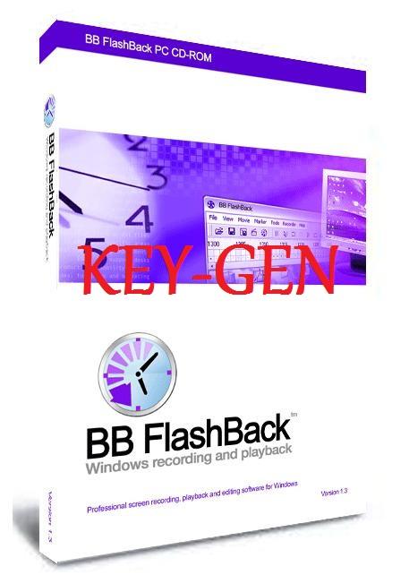 Games, Hacks & Softwares: BB FlashBack Pro License Keygen ...