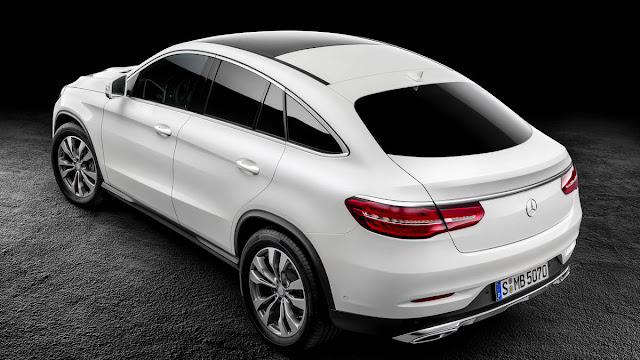 2016 New GLE63 S Coupe Mercedes Benz performance back view