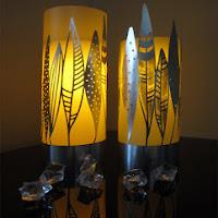 Vinyl and Foil Lanterns